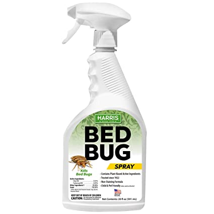 Cool Harris Plant Based Bed Bug Killer Fast Acting Spray With Extended Residual 20Oz Short Links Chair Design For Home Short Linksinfo