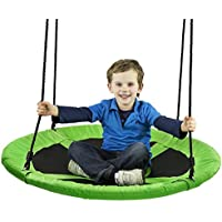 Nowus Extra Large Tree Swing 40 Inch Diameter for backyard Tree and Outdoor Use