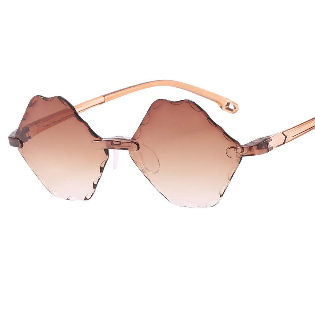 NRUTUP Children Irregular Eye Sunglasses Retro Eyewear Fashion Radiation Protection