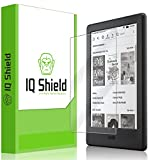 Kindle Screen Protector, IQ Shield LiQuidSkin Full Coverage Screen Protector for Kindle (6',2016)(8th Generation Gen)(E-reader) HD Clear Anti-Bubble Film - with