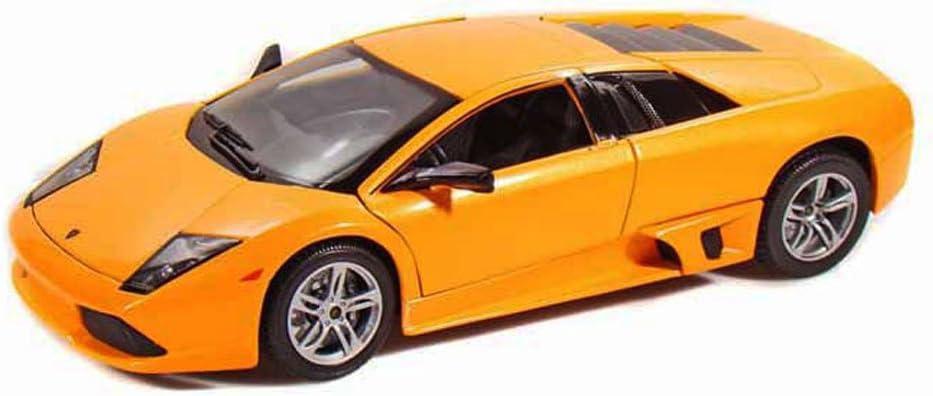 Maisto 1:18 2007 LAMBORGHINI Murcielago LP640 Orange Display Miniature Car