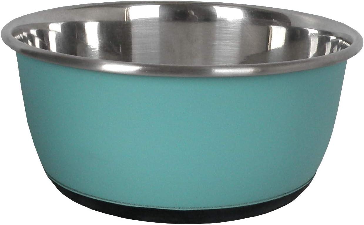 16 cm Azul Aim/é 0,08 kg Cuenco Antideslizante de Acero Inoxidable para Gato//Perro