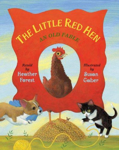 Little Red Hen Fable LittleFolk ebook