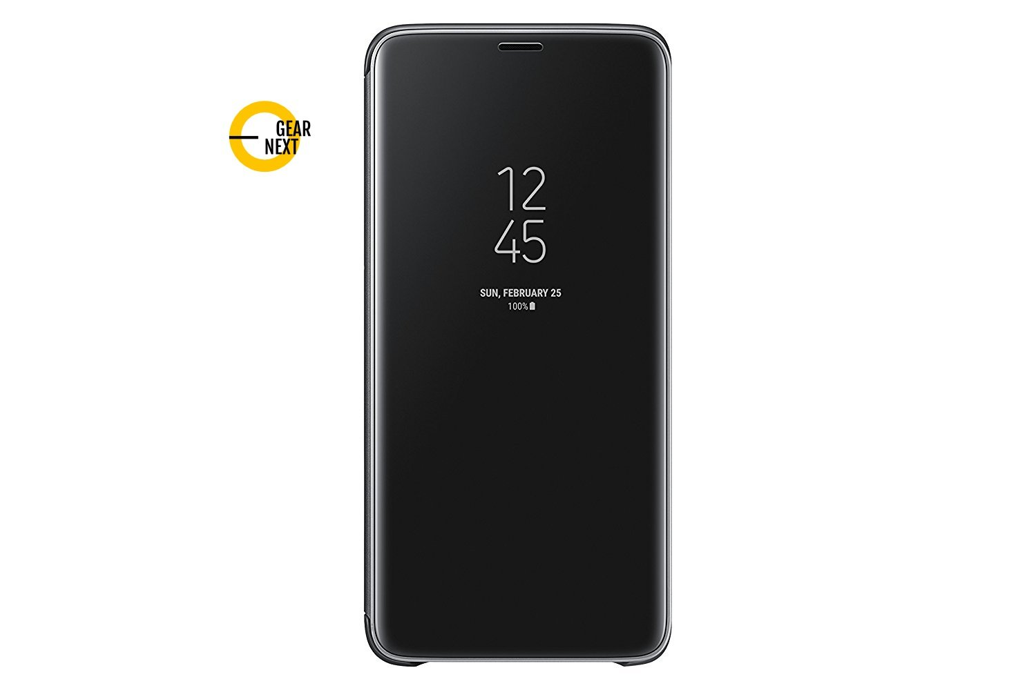 finest selection 24cd7 35082 Gear Next Clear View Case Standing Back Cover for Samsung Galaxy S9 Plus  (Black)