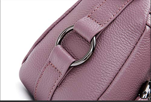 In Per Di Grande Capienza Borsa Da Vacchetta Tracolla Ragazze Di Gray KOKR Purple Pelle Donna Borse Messenger A RPWO0A