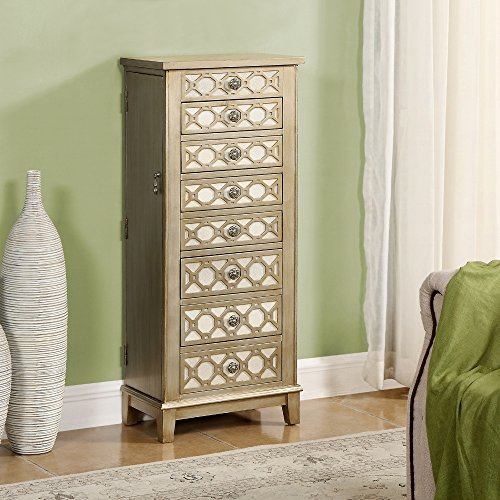 coast-to-coast-honeycomb-wood-jewelry-armoire-cadia-metallic-gold
