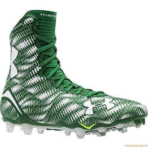 Under Armour Men's UA Highlight MC Football Cleats 12 Green/White