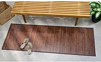 iDesign Tapete para pasillo, bambú, 182 x 61 cm: Amazon.es: Hogar