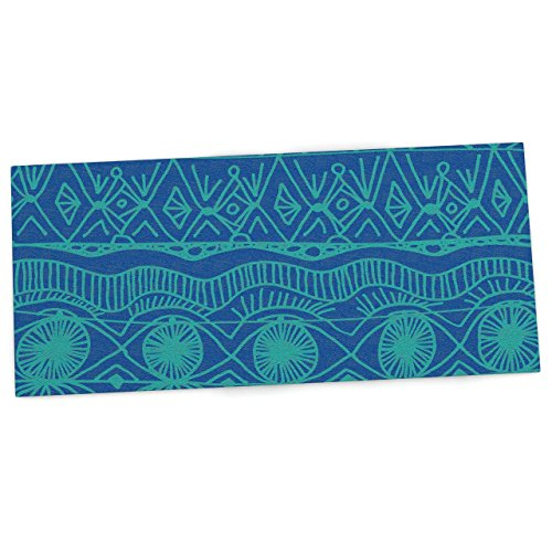 """Price comparison product image KESS InHouse Catherine Holcombe """"Beach Blanket Confusion"""" Office Desk Mat, Blotter, Pad, Mousepad, 13 x 26-Inches"""