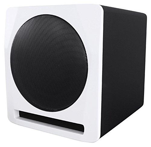 Rockville APM10W 10″ 400 Watt Powered Home Theater Subwoofer Sub – Studio Sound
