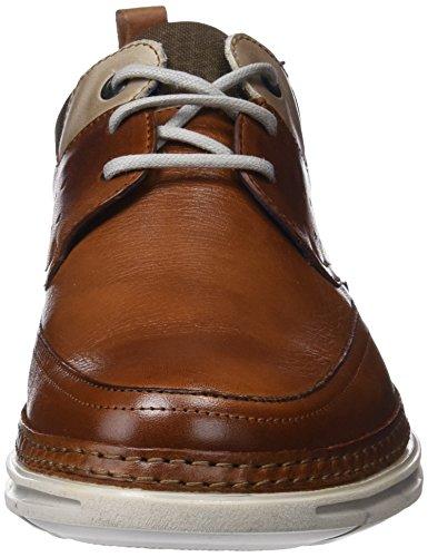 Cordones Hombre para Fluchos Zapatos de Brown Marrón Fuji Derby qvt4p