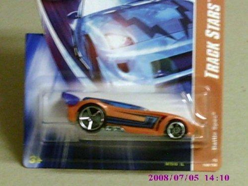 Mattel 2008 Hot Wheels Track Stars Orange Battle Spec w/ ...