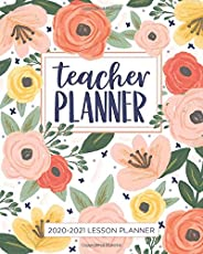 Lesson Planner for Teachers: Weekly and Monthly Teacher Planner | Academic Year Lesson Plan and Record Book wi
