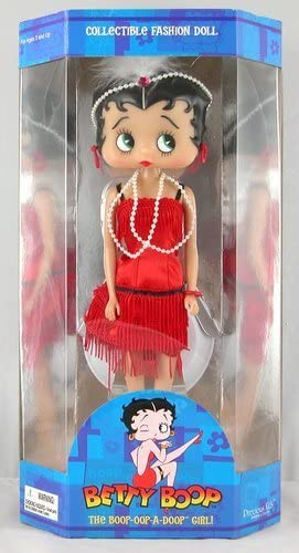 "Betty Boop Flapper Doll 12/"" Collectiable  Figure New"