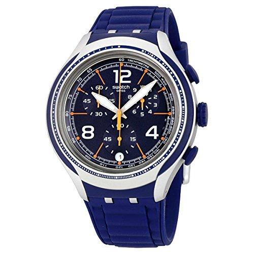 Swatch BLUE FACE Watch - Swatch Orange