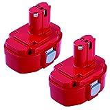 Replacement 1822 Battery for Makita 18V 3000mAh 833 1834 1835 1835F 192828-1 192829-9 193061-8 193102-0 193140-2 193159-1 193783-0