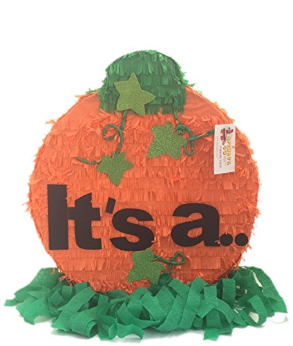 APINATA4U It's a Gender Reveal Pumpkin Pinata Fall Theme/ Thanksgiving -