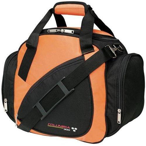 Columbia - Sacca da bowling 300 Classic Series, per una boccia, colore: Nero/Arancio