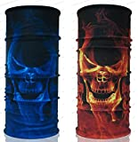 Ghost Rider UV Protection Fishing Usa Mask Scarf Bandana Headband Headwear Biker Bb Gun Angler Extreme Motocross