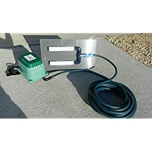 Model #ADS2236 Air Diffuser System for Koi Ponds and Water Gardens by: Bubblemac Industries Inc.