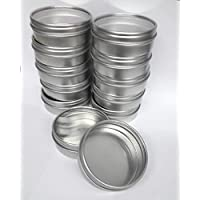 Clear45; Top Favor Tins 12 ct46;