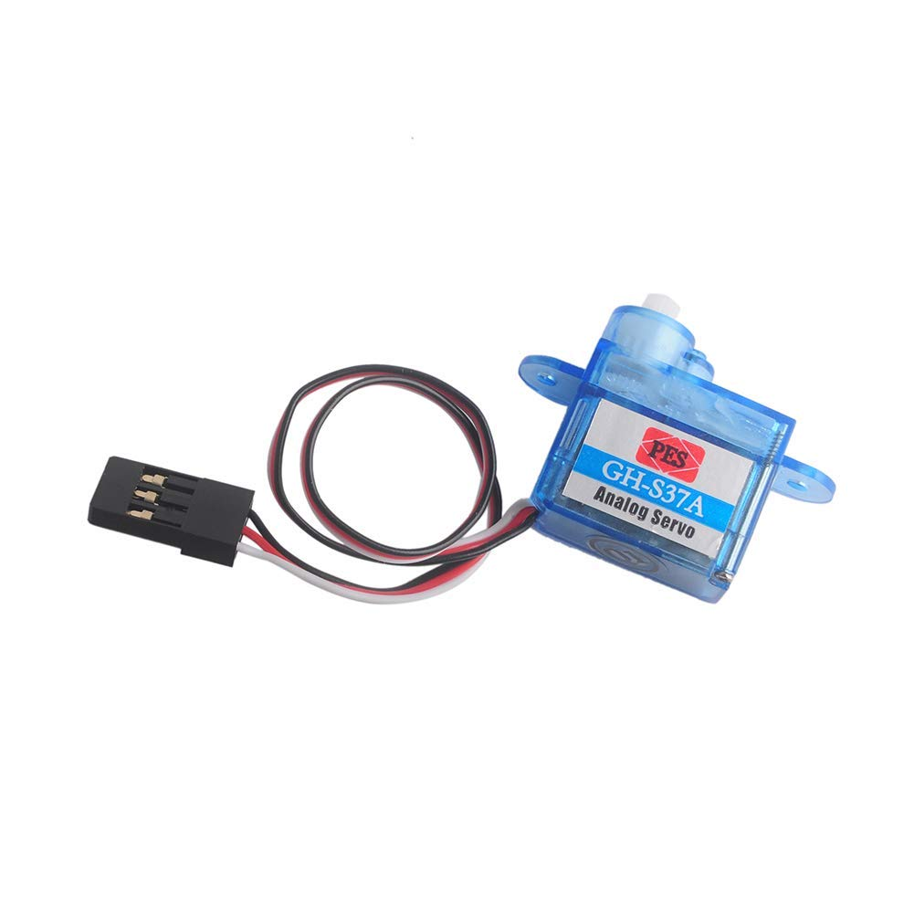 4 pcs Super Light 3.7g Micro Nano Servo Mini Analog Servo GH-S37A Control Direction for Rc Plane Helicopter Car Boat