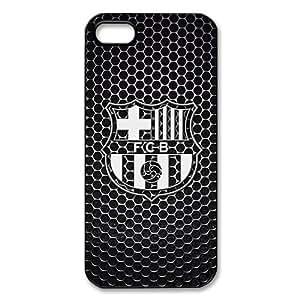 FC Barcelona Logo Image Snap On Hard Plastic Iphone 5 5S Case