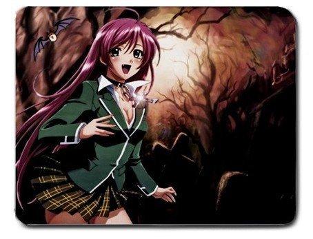 Rosario + Vampire Akashiya Moka Kurumu Mizore Yukari Anime alfombrilla de ratón alfombrilla de ratón: Amazon.es: Electrónica
