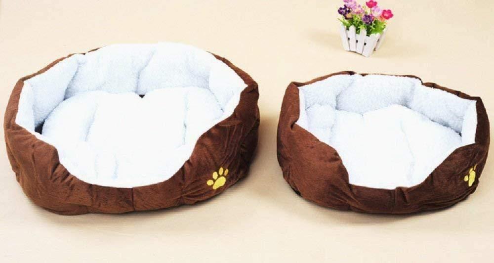 Beito Lavable del Perro casero Cesta Caliente de Cama, Cojines para Mascotas en Perros cojín del sofá Caliente algodón cómodo Nido cálido: Amazon.es: ...