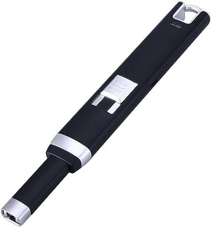 bestomz USB encendedor de arco, batería sin llama mechero ...