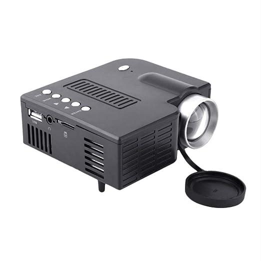 ZCCZ-AA Mini UC28 + proyector LED Home conexión Micro ...