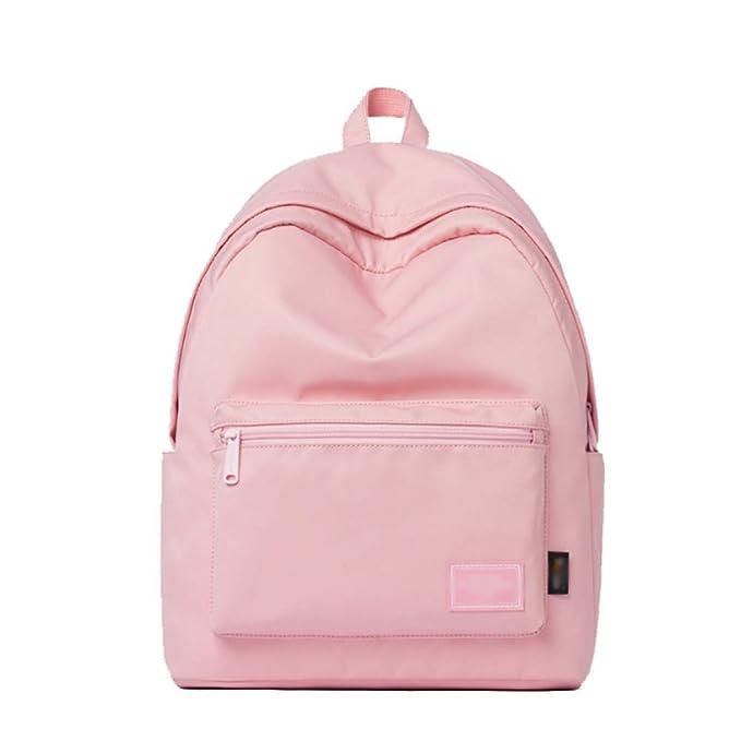 Señoras Mochilas Estudiantes Moda Casual Chic Glamour Simple,Pink-OneSize: Amazon.es: Ropa y accesorios