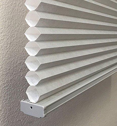 Gray, Light Filtering Cellular / Honeycomb Shades, 18