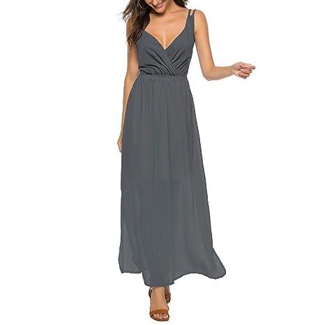Vestidos de Fiestas Vestidos Largos de Boda SUNNSEAN Faldas Largas ...