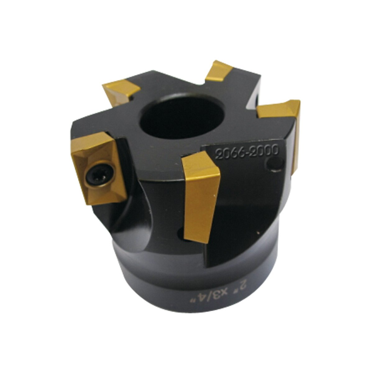 HHIP 2066-2000 2'' x 3/4'' Bore 90 Degree APKT-160408 Index able Face Mill, 5 Teeth