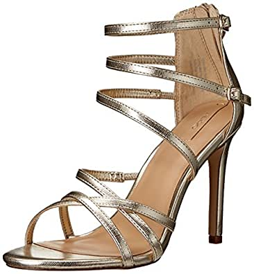 ALDO Women's Virasien Dress Sandal, Gold, 7.5 B US