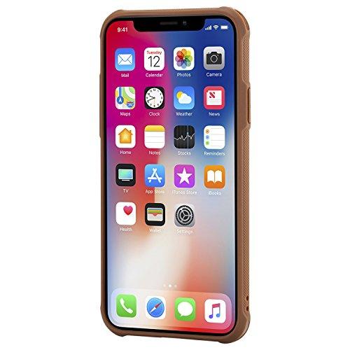 Carte iPhone X X Miroir Cuir Coque en Fonction 10 de Porte iPhone BONROY Support Antichoc Protection Flip Housse Fleur 10 Etui Housse Cover iPhone Magn Elegante Papillon Case Cuir PFnn7x