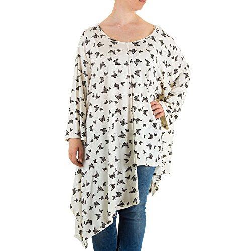 Ital-Design - Camisas - para mujer Creme Weiß