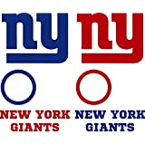 "Amazon.com : New York Giants NFL Large Sticker (12"" x 10 ..."