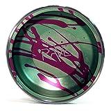 YoYofficer Rave Aluminum Yo-Yo (Green Purple)