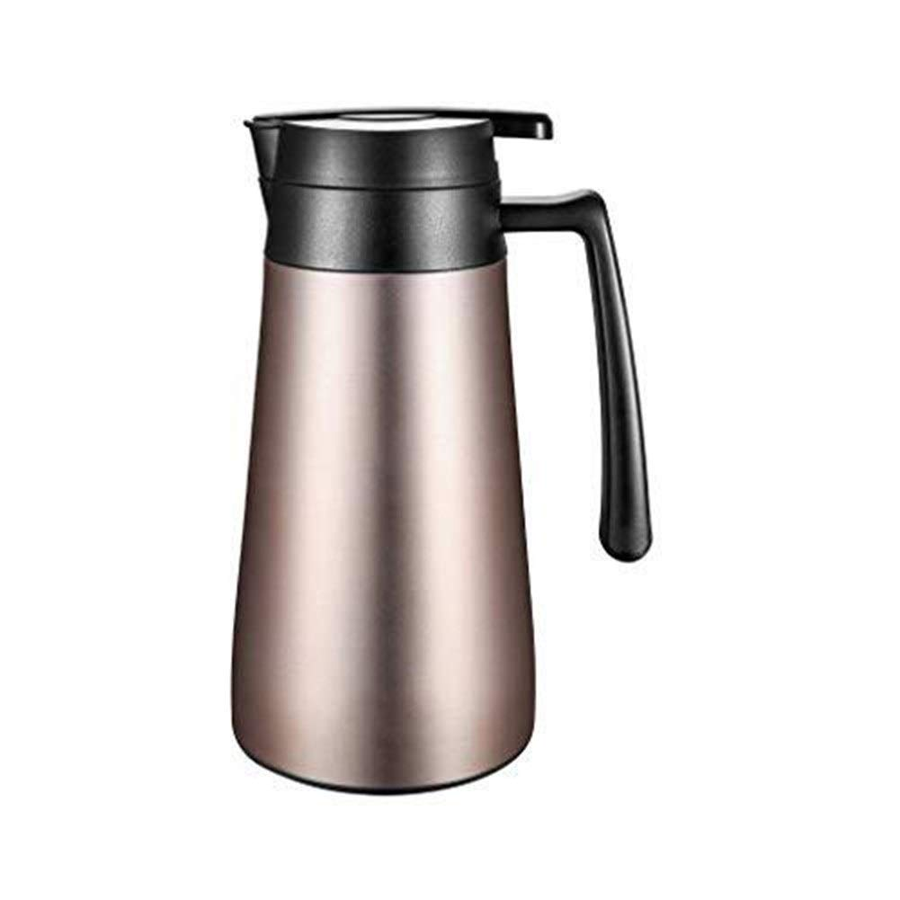 RMJAI 1300ミリリットル大容量魔法瓶やかん高品質サーマルピッチャー断熱ポット真空フラスコ茶コーヒーマグ水差し