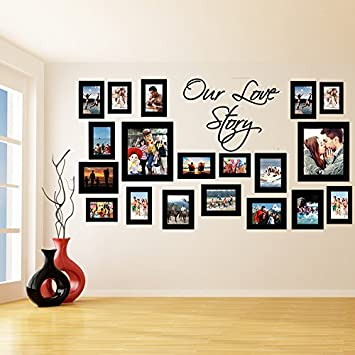 slaf ltd 200x110 cm vinyl wall decal picture frames design our rh amazon co uk