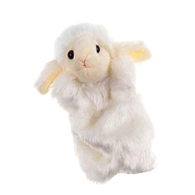 NUOBESTY Animal Hand Puppet Hand Puppet Toy Sheep Hand Puppet Cute Plush Doll Kindergarten Children Educational Toy: Toys & Games