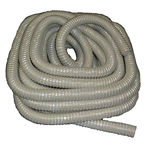 All Parts Etc Extra Long Wire Reinforced Beige Hose Industrial and/or Commercial Use 50' Length by All Parts Etc