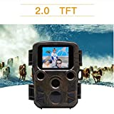 3G Camera WiFi GSM SMS MMS GPRS with Infrared Night Vision Motion Activated