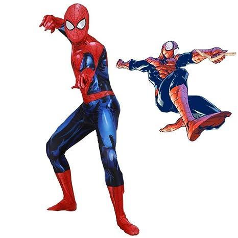 Rmckj-Q Spiderman Homecoming Cosplay Disfraz Unisex Adultos ...