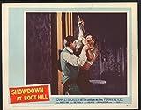 "MOVIE POSTER: Showdown at Boot Hill 11""x14"" Lobby Card Charles Bronson FN"