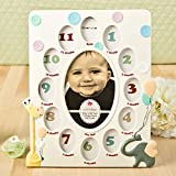 12 Giraffe And Elephant Baby Collage Frame