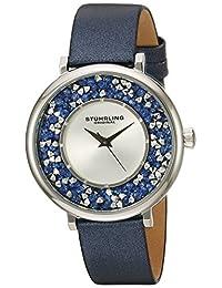 Stuhrling Original Women's 793.02 Vogue Analog Display Quartz Blue Watch