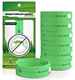 Naturaband Mosquito Repellent Bracelets – 7 Pack – All Natural Bug & Insect Control DEET-FREE.